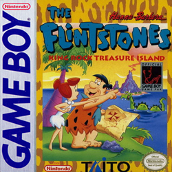 The Flintstones: King Rock Treasure Island Cover
