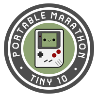 Tiny Ten Badge