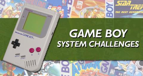 Game Boy System Challenge
