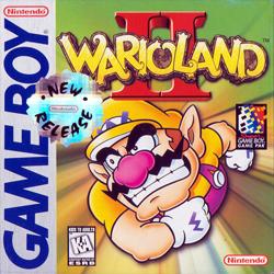 Wario Land II Cover