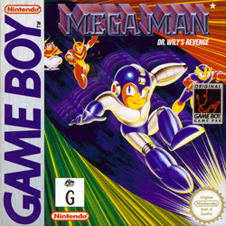 Mega Man: Dr. Wily's Revenge Cover