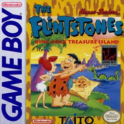 The Flintstones: King Rock Treasure Island Cover